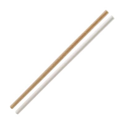 Eco Strohhalm, 24cm, 30 St. Papier