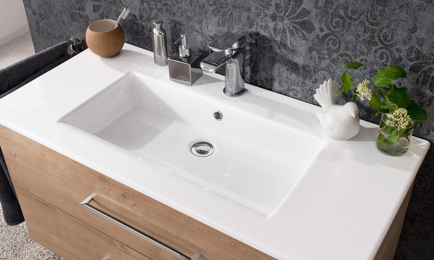 Waschbecken Vormontiert Von Fackelmann